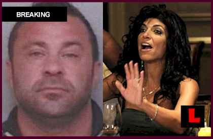 Joe Giudice Criminal Case Prompts Teresa Giudice Silence jail, prison, arrest, mugshot