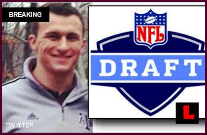 Johnny Manziel Cleveland Browns NFL Draft 2014 Results Revealed