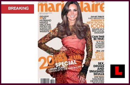 Fake Kate Middleton Cover Marie Claire Defends as Fan Art