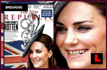 Kate Middleton Teeth Cover Prompts The New Republic Controversy