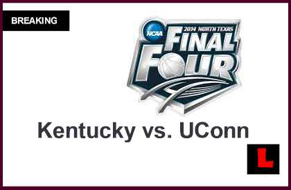 Kentucky vs. UConn 2014 Score Prompts what Channel, Start Time for NCAA Finals college basketball championship