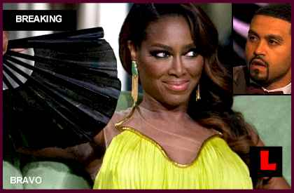 Kenya Moore, Apollo Text Messages Prompt Ex Convict Remarks