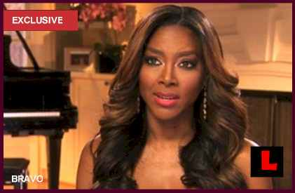 Kenya Moore Workout Stallion Video Battles Shahs of Sunset: EXCLUSIVE