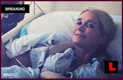 Kim Richards in Hospital on RHOBH: Not Drunk, Reaction to Pills