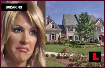 Kim Zolciak Fire Strikes ATV in Home Garage
