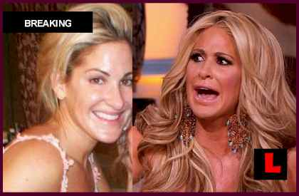 Kim Zolciak Real Hair Photos Get Tardy for the Wedding