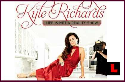 Kyle Richards New Book Prompts Peculiar Release Date