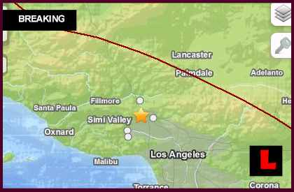 Los Angeles Earthquake Today 2014 Strikes Southern California, Valley