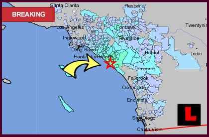 laguna nigel earthquake today 2012 strikes southern california orange county