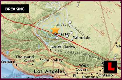 Lancaster Earthquake 2015 Today Strikes Southern California