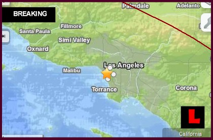 Los Angeles Earthquake Today March 7 Strikes So California 2014