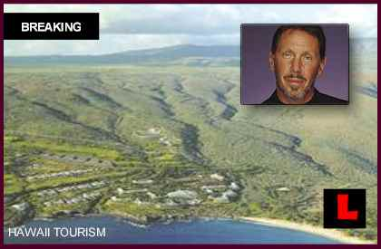 Larry Ellison Buys Lanai from David Murdock, Castle & Cooke