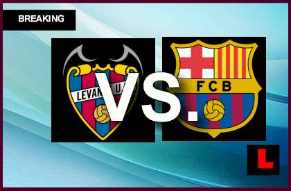Levante vs. Barcelona 2014 Prompts Copa Del Rey Score Struggle en vivo live score results today
