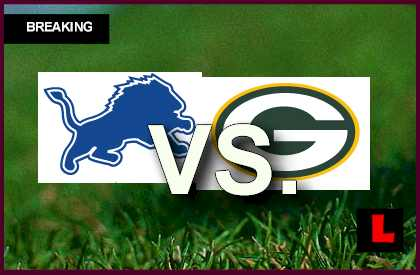Lions vs. Packers 2013: Akers Scores Before Halftime live score results channel today game