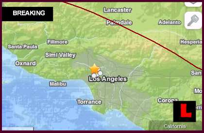 Los Angeles Earthquake Today 2014 Strikes California - Universal City