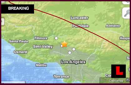 Los Angeles Earthquake Today 2013 Strikes Southern California