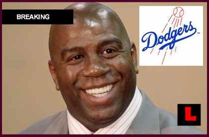 Magic Johnson Buys Dodgers with Mark Walter, Stan Kasten, Peter Guber