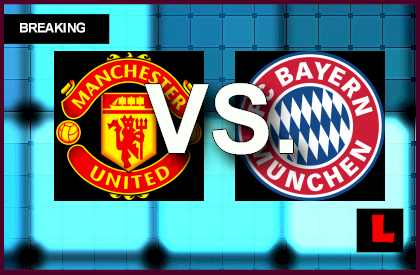 Manchester United vs Bayern Munich 2014 Score Strikes Champions League League Results en vivo live score results uefa  soccer