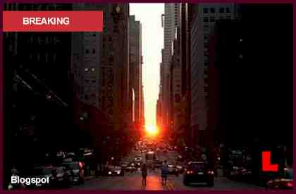 Manhattanhenge 2012 Prompts New York Sunset Spectacle Today