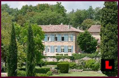 Chateau Miraval - Bangelina Provence Mansion Prompts Inaccuracies