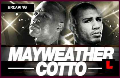 Mayweather vs. Cotto Boxing Fight Results Prompt Floyd Mayweather winner Win who won the fight tonight