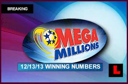Mega Millions Winning Numbers: December 13,2013 Results Tonight Revealed last night 12-13-13