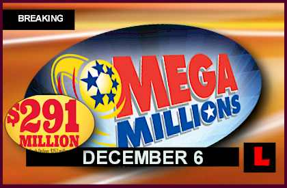 Mega Millions Winning Numbers: December 6 2013 12-6-13 Results Reach Record tonightl