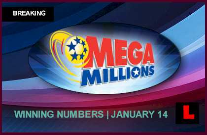 Mega Millions Winning Numbers January 14, 2014 1-14-14 Results Tonight Revealed