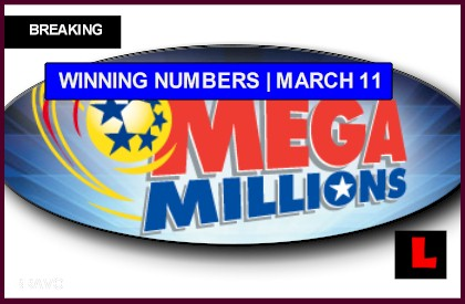 Mega Millions Winning Numbers March 11, 2014 3-11-14 Results Tonight Revealed
