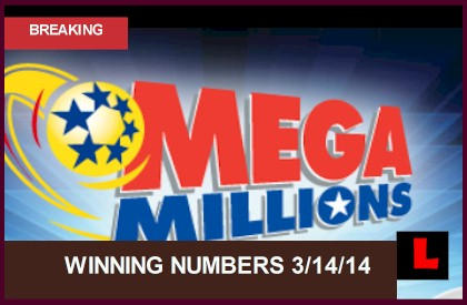 Mega Millions Winning Numbers March 14 2014 Results Tonight Hit $353M 3/14/14