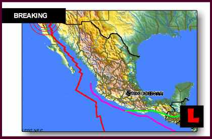 Mexico Earthquake Today 2012 Strikes Baja California