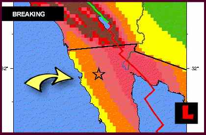 Mexico Earthquake Today 2012 Strikes Ensenada Region