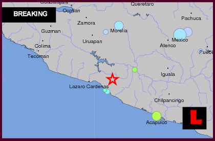 Mexico Earthquake Today 2013 Delivers Different Location