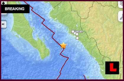 Mexico Earthquake Today 2014: 6.2 Terremoto Strikes Near Baja California