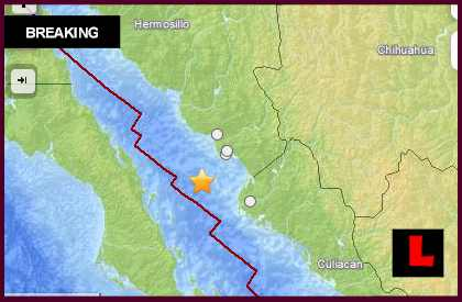 Mexico Earthquake Today 2013: 6.5 Terremoto Strikes October 19
