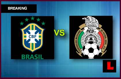 Mexico vs. Brazil 2013: Neymar Scores Early in Soccer Game Today en vivo live score results today