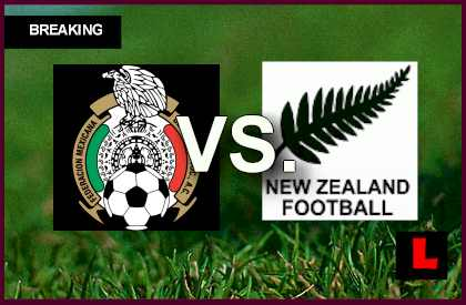 Mexico vs New Zealand 2013 Score Heats up World Cup Playoff en vivo live score results today under  world cup