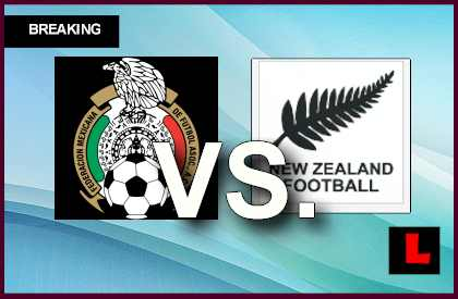 Mexico vs. New Zealand 2013 Score Prompts Copa Mundial Playoff Battle en vivo live score results today