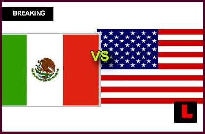 en vivo live score results today Mexico vs. USA 2013 Battles in Soccer World Cup Qualifier Today
