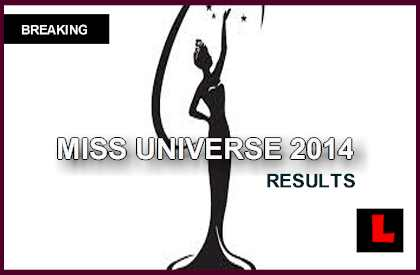 Miss Universe 2014 Winner Results Tonight Reveal Top 10 2015