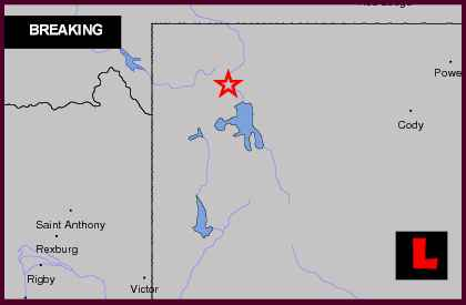 Wyoming Earthquake Today 2013 Strikes Near Montana, Utah
