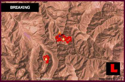 Montana Fire Map 2013 Today Updates Miner Paradise, Red Shale Fires