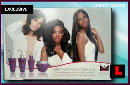 Kenya Moore Hair Care Line Set to Launch