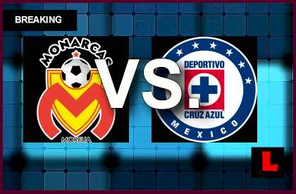 Morelia vs Cruz Azul 2014 Score Delivers Liga MX Results Tonight en vivo live futbol soccer