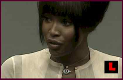 Naomi Campbell Received Blood Diamonds - Naomi Campbell Hague Testimony