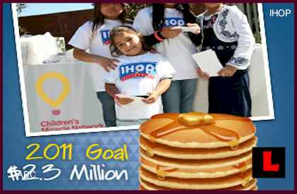 IHOP National Pancake Day Benefiting Local Charities