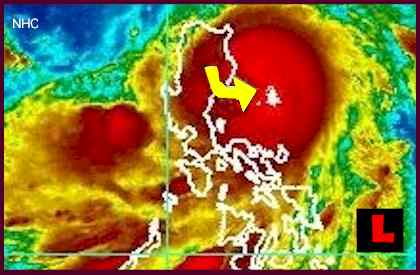 Philippines Typhoon Nesat, Pedring - Projected Path Prompts Alerts