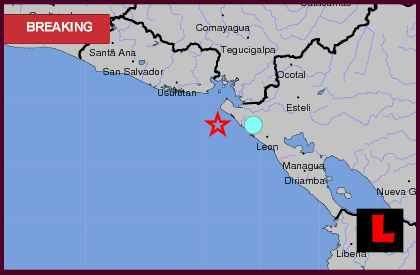 Nicaragua Earthquake Today 2013 Strikes Jiquilillo
