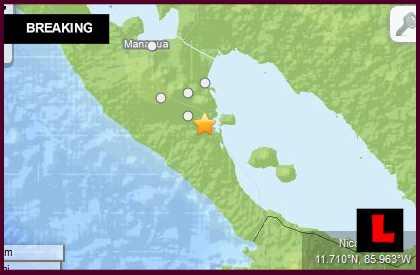 Nicaragua Earthquake 2014: 6.6 Terremoto Hoy Hits Near Managua April 11