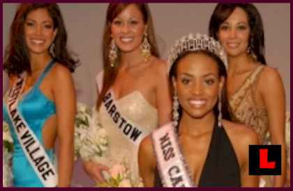 Nicole Johnson Miss California Michael Phelps